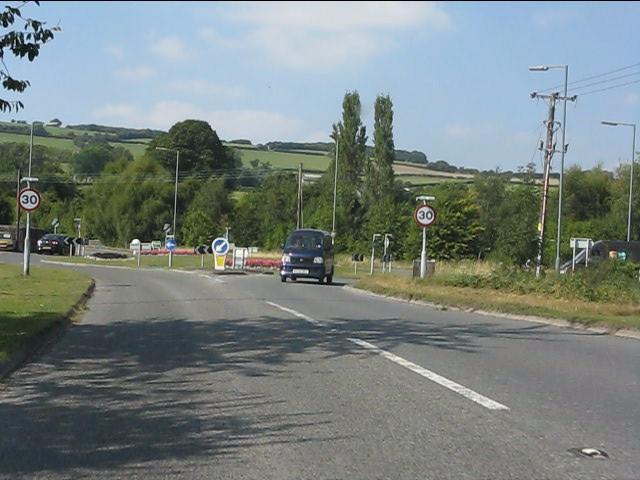 B4355 roundabout, Kington bypass