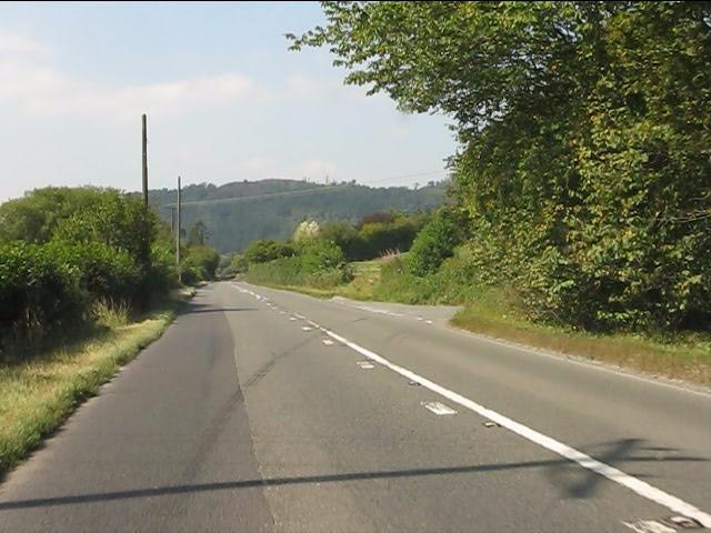A44 running alongside Back Brook