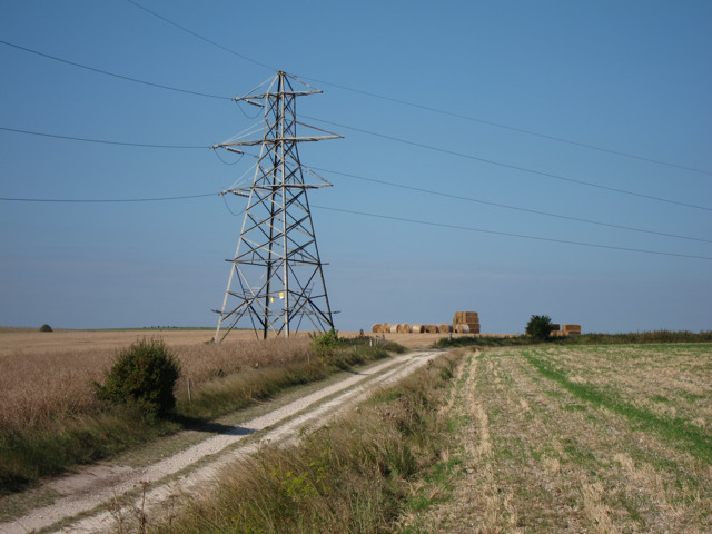 Pylon by the Sussex Border Path