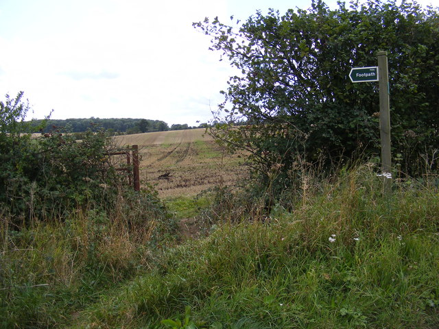 Footpath to St.Mary's Church & The Street