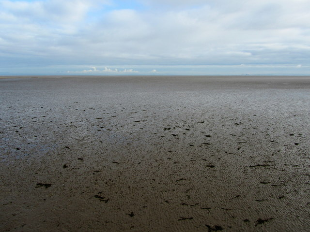View Northwards from the Slipway at Knott End 0n Sea