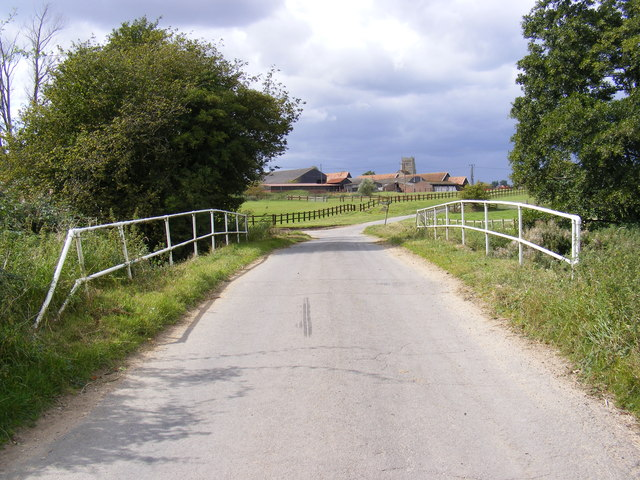 Sanctuary Bridge on Hoo Road