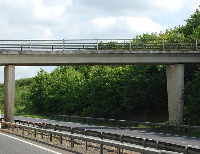 Heath Road bridge over the A11