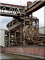 SJ6874 : Industrial structures by the canal near Northwich, Cheshire : Week 35