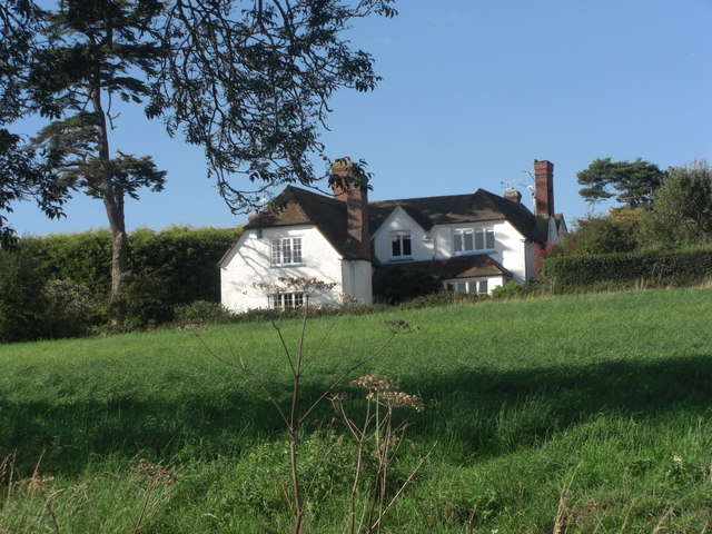 Southridge House from the lane below