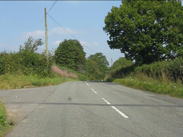 B4372 near Knowle Farm