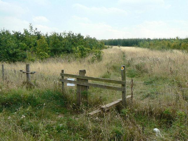 Footpath near Radcliffe-on-Trent