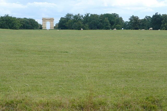 Stowe Park, pastures south of Octagon Lake