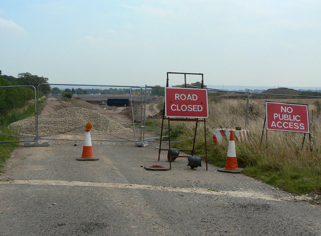 Cropwell Road closure