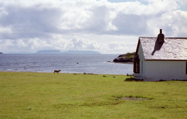 The MBA bothy at Camasunary