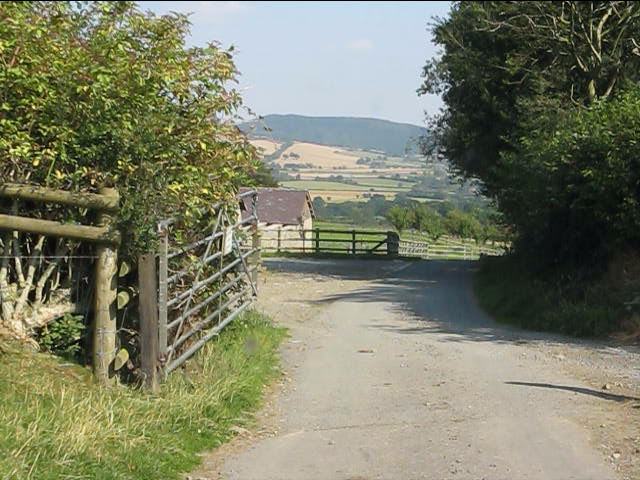 Gated road at The Hill
