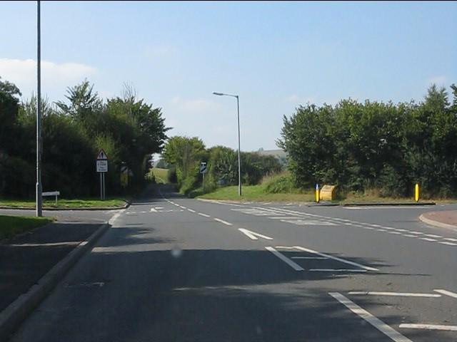 B4356/B4355 junction, Presteigne