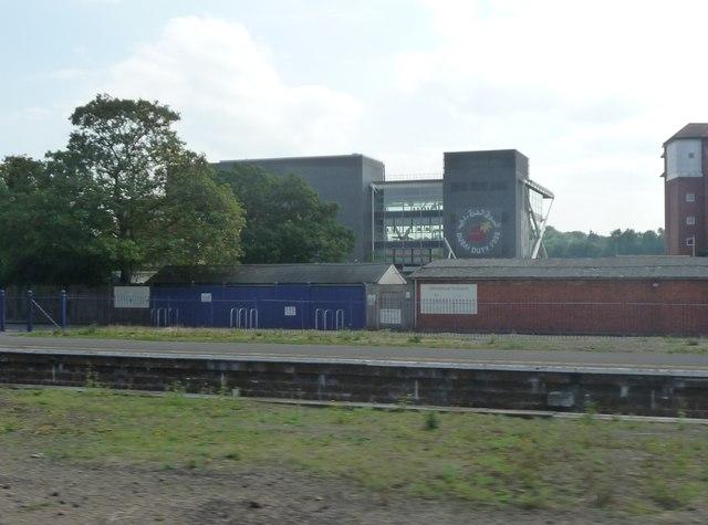 Newbury : Grandstand Enclosure