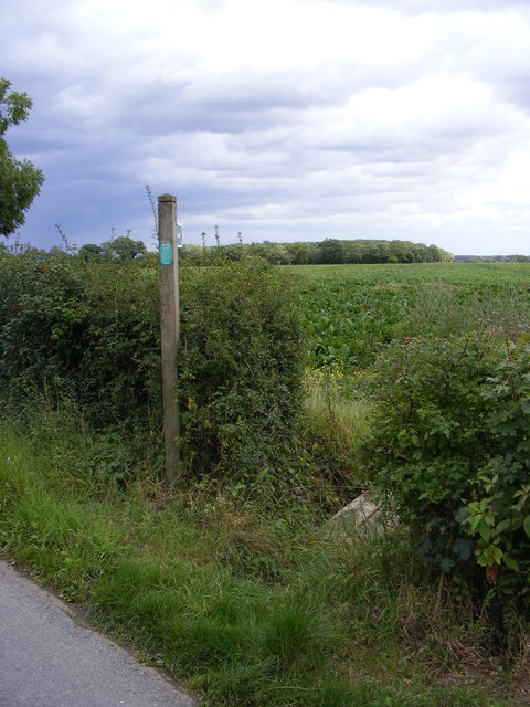 Footpath to Sandy Lane