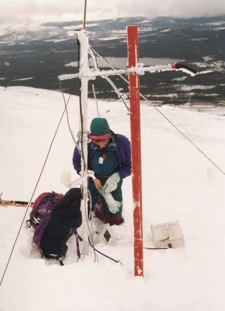 Snow monitoring study, Coire Laogh Mor 1994