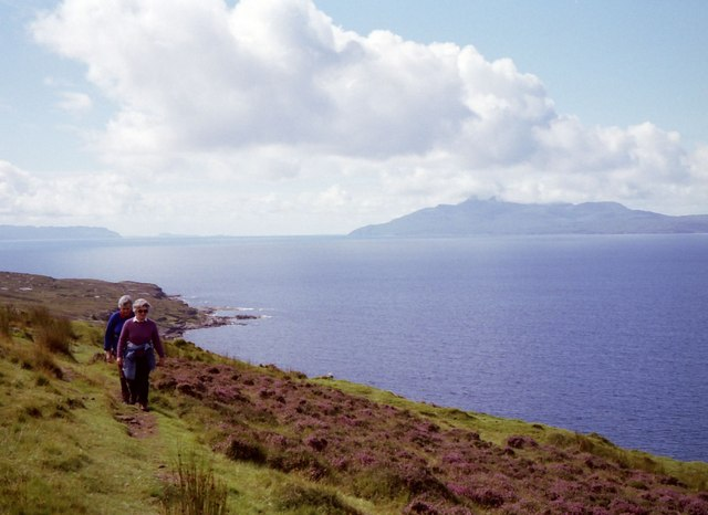 On the Elgol to Camasunary path