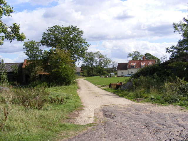 The Entrance to Wright's Farm