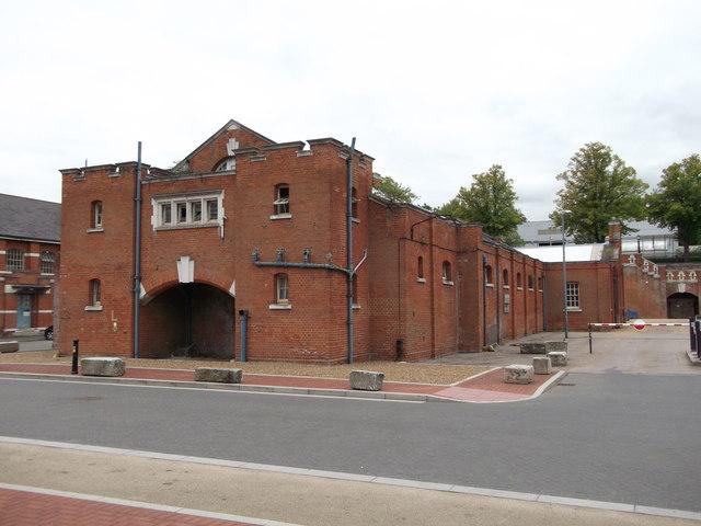 Former Pembroke Barracks Swimming Pool