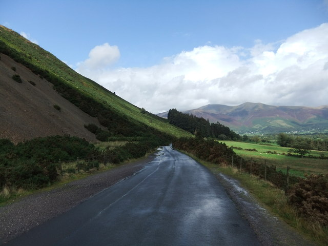 The road by the slope of Barrow