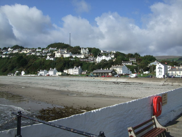 Foreshore at Laxey