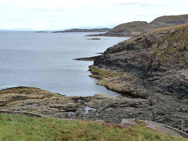 Coastline east of Ardnamurchan Point
