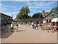 TR0059 : Brogdale Farm market place by Oast House Archive