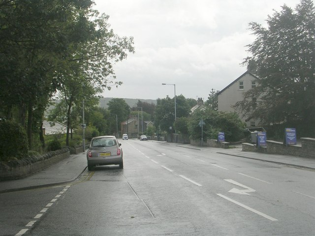 Leeds Road - viewed from Ashfield Road
