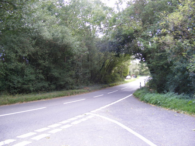 B1078 looking towards Potash Corner