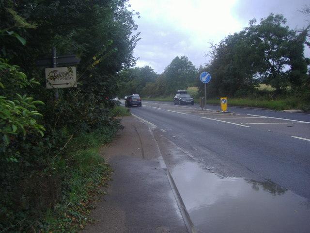 Reigate Road near Betchworth