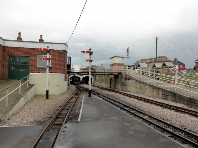 New Romney, RH&DR tunnel