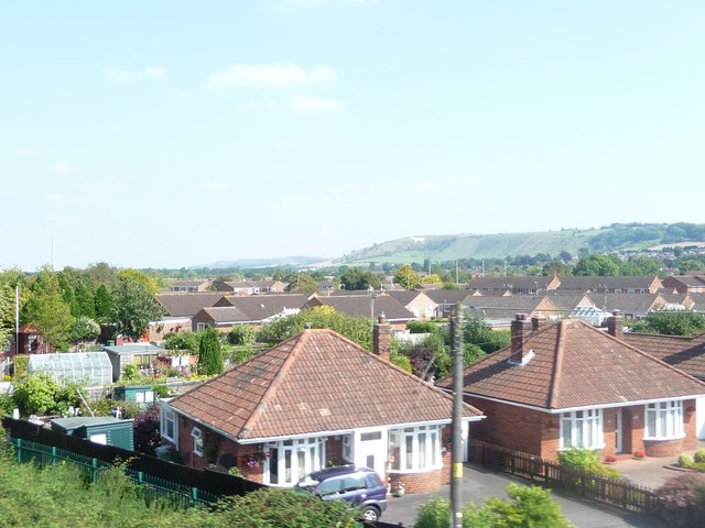 Westbury : Rooftops and Houses