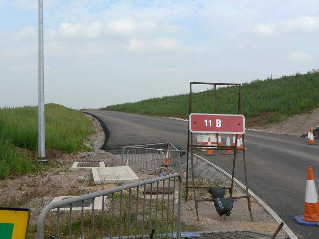 New Saxondale Roundabout