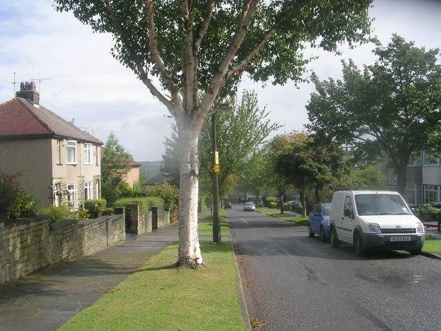 Wesley Grove - looking towards Cross Road
