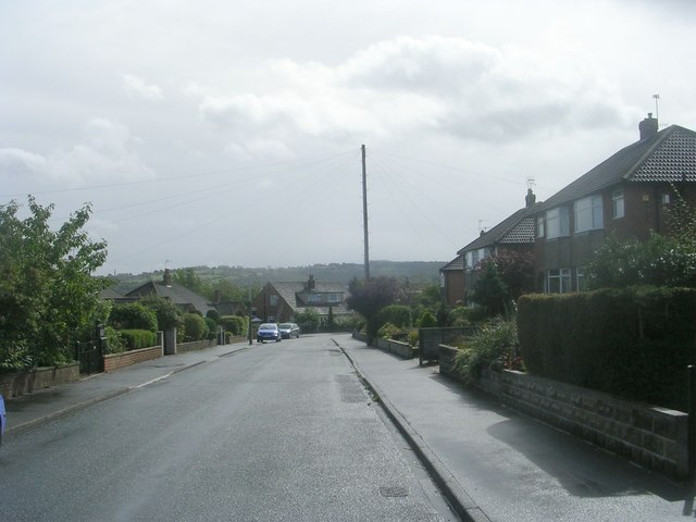 Simpson Grove - looking towards Leeds Road