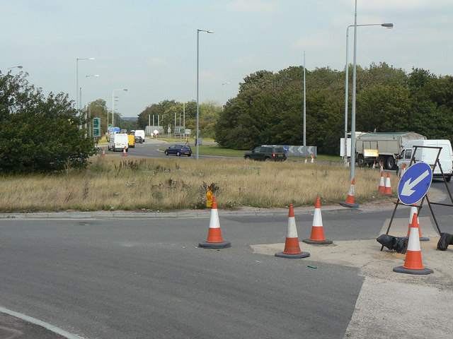 Old Saxondale Roundabout