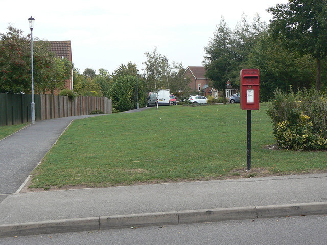 Meadowsweet Hill postbox ref NG13 333