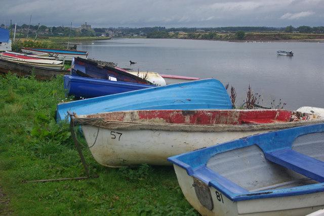 Boats at Amble