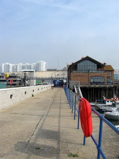 West Quay, Brighton Marina