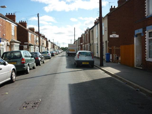 Estcourt Street, Hull