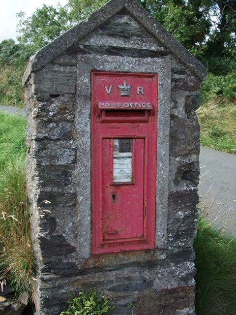 Victorian Postbox at Ballajora