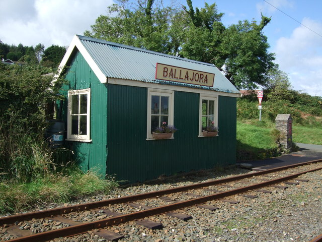 Ballajora station Manx Electric Railway