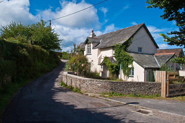 One of many picturesque cottages in Westleigh