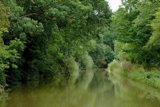 Trent and Mersey Canal north-west of Middlewich, Cheshire
