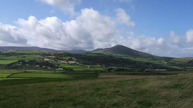 Panoramic view towards North Barrule