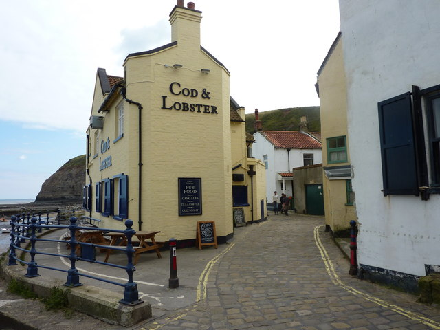 The Cod and Lobster, Staithes