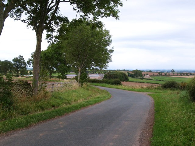 Country lane. Hutton Hang