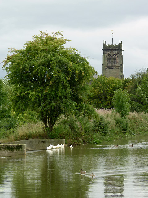 Trent and Mersey Canal at Middlewich, Cheshire
