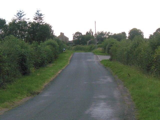 Lane at Newton le Willows