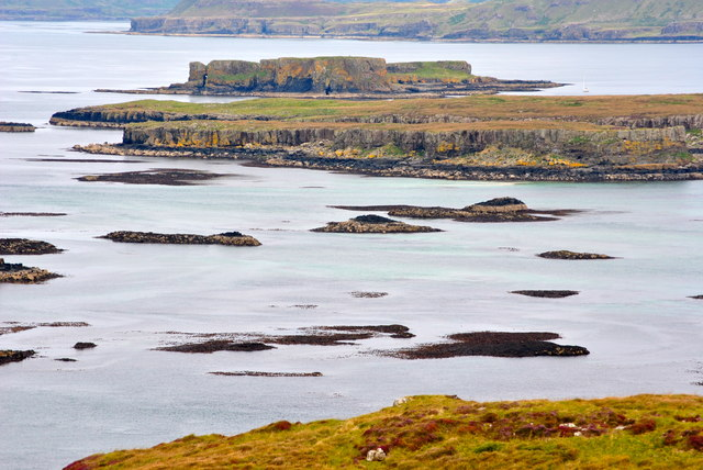Fladda from Lunga