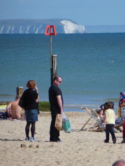 Bournemouth: groyne № 8 and the polar bear